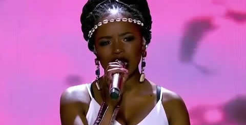 Yanga Sobetwa Performing What Is Love by the Empire Cast on Idols SA 2018