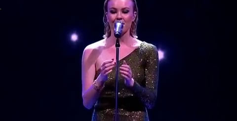 Micayla Oelofse Performing Run To You by Whitney Houston